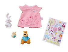 819616 Zapf creation Baby Born Sticker-T-Shirt mit Tierfiguren Mode