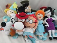 Rocky and Bullwinkle Complete Set of 12 Plush Toys CVS, All with Tags