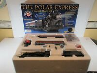 LIONEL G SCALE POLAR EXPRESS SET 7-11022 OB PLUS CARTON