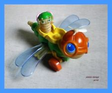 """ Dragonflyer "" Glow New no box Glo Friends USA 1986 PLAYSKOOL Dragonfly Unique"