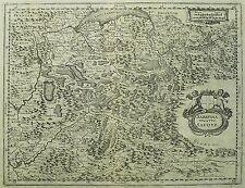 FRANKREICH / SAVOYEN - Herzogtum Savoyen - Merian - Kupferkarte 1645