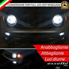 CONVERSIONE FARI FULL LED H4 + BAY15D JEEP RENEGADE 6000K LED CANBUS XENON