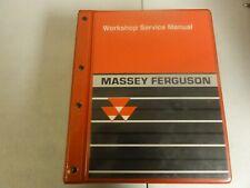 Massey Ferguson 4200 4300 Tractor Workshop Repair Service Manual 1449494M4  '03