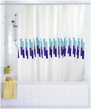 Cortina de ducha tejido MARINA Wenko 120x200 cm alemán Producto calidad + Anillo