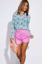 Women's Floral Long Sleeve Sleeve Classic Collar Blouse Tops & Shirts