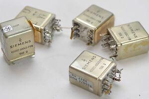 Siemens Comb Relay/Kamm-Relais V23062-A0042-F106, 12 V, 1500 Ω, Rohde & Black