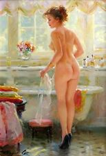 HD Print On Canvas Figure Oil Painting Picture Nude Art For Home Decor PR017