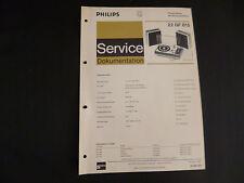 Original Service Manual Philips  22 GF 815