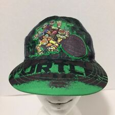 TEENAGE MUTANT NINJA TURTLES Child's Gray NYC Baseball Cap Hat TMNT Nickelodeon