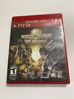 Mortal Kombat vs. DC Universe (Sony PlayStation 3, 2008) * Complete * FAST SHIP