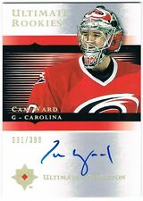 2005-06 ULTIMATE COLLECTION ROOKIE AUTOGRAPH #107 CAM WARD 331/399 !!