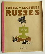 Russes Claire Goll, Illustrierte Bücher, Contes et Legendes Russes, Claire Goll,