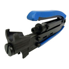 Coaxial Cable Wire Crimper, Coax Compression Hand Tool RG59 Extrusion Clamp