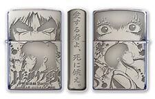 ZIPPO Lighter Basilisk The Kouga Ninja Scrolls Silver Saten Anime Oil Lighter
