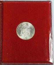 1978 Vatican Silver 500 Lire Uncirculated Coin