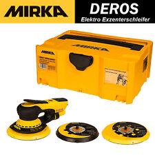Exzenterschleifer MIRKA Schleifmaschine DEROS 125 150 mm Excenterschleifer 230V