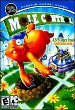 Mole Control PC CD hunt rid town rodents in yard Minesweeper timed puzzle game!