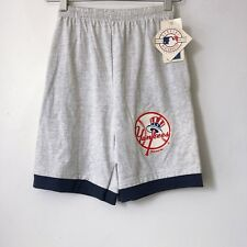 vintage new york yankees shorts kids size XL 18-20 deadstock NWT 1991