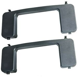 OEM NEW 17-21 Ford Super Duty XL XLT Front Bumper Tow Hook Bolt Cover Cap PAIR