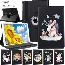 Fit Apple iPad Mini 4/5 360°Rotating PU Leather Tablet Stand Case Cover