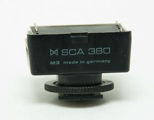 Metz SCA 380 Flash Module Adapter For Yashica / Contax SCA380