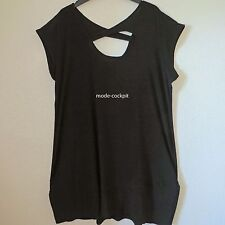 MAGNA raffinierte Ballon Tunika Kleid Lagenlook schwarz  48-50(4)