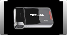 TOSHIBA CAMILEO S30 Full HD READY CAMCORDER SCHWARZ 8 MEGAPIXEL DISPLAY CAM TOP
