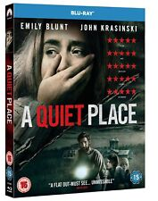 a Quiet Place - Emily Blunt UK Blu Ray Region Stock 2018