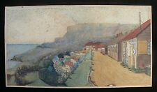 HMS Osprey (Portland) c1926 Pair of Watercolour Drawings by Lt. N.A. Prichard RN