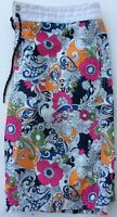 Tommy Hilfiger Mens Size M Vibrant Floral Mesh Lined Swim Trunks Board Shorts