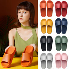 Couple Home Bathroom Slippers Sandals Woman Indoor Slippers Non-Slip Thick-Soled