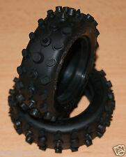 Tamiya Hot Shot/Bigwig/Boomerang/Super Sabre, 9805110/19805110 Front Tyres/Tires