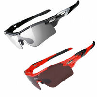 RockBros Cycling Glasses Polarized Photochromatic Sports Sunglasses Goggles