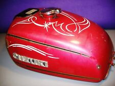 Suzuki GT500 gas fuel tank 1976 red GT 500 44110-15640  blems