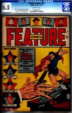 FEATURE COMICS #83- CGC 6.5- WWII DOLLMAN STORIES- 1944 QUALITY