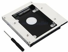 2nd SATA Hard Drive HDD SSD Caddy Adattatore Per Lenovo Thinkpad L430 L530 DVD Bay