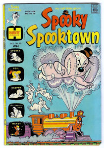 SPOOKY SPOOKTOWN #53 in VG codntiion a Harvey 1974 Bronze Age comic