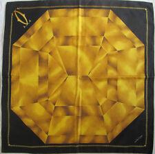 -Superbe Foulard MUST DE CARTIER   100% soie  TBEG  vintage scarf  85 x 88 cm