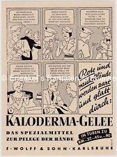 Kaloderma-Gelee, F. Wolff & Sohn, Karlsruhe, Werbung 1939