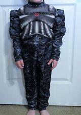 Costume Gray Digital Camo OPERATION RAPID STRIKE Muscle Suit Child Size 4-6