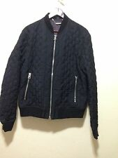 New JUST CAVALLI Bomber Jacket Rt $895 size 52 Made In ITALY.