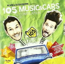 105 MUSIC & CARS COMPILATION ALVIN & DJ GIUSEPPE - 2 CD - NUOVO
