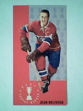 JEAN BELIVEAU  HART TROPHY WINNER '64-65 PARKIES TALL BOYS CARD