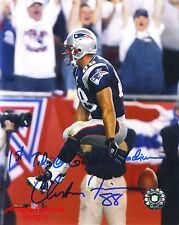 CHRISTIAN FAURIA NE Patriots Original SIGNED Autographed 8x10 Photo COA #2
