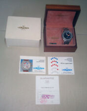 80s Lemania Elvstrom Regatta Stainless Steel Yachting Watch with Box & Paper
