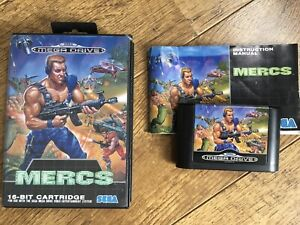 Mercs Megadrive Game! Look At My Other Games!