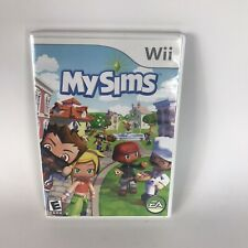 MySims (Nintendo Wii, 2007) Complete w Game, Case, Manual