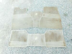 FLOOR MATS FRONT & REAR FROM 1971-19788 GM FULL SIZE CARS 75BL2-1D3
