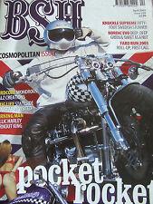 BSH BACK STREET HEROES MAGAZINE APR 2003 SWEDISH STUNNER NORDIC EVO FARO RUN