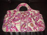Vera Bradley New Abby Paisley Meets Plaid Handbag Purse  * NWT  NEW